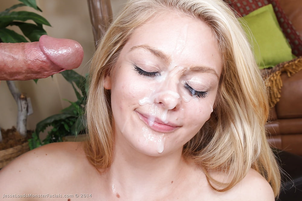 Gorgeous Student Spunked On Face After Insane 1
