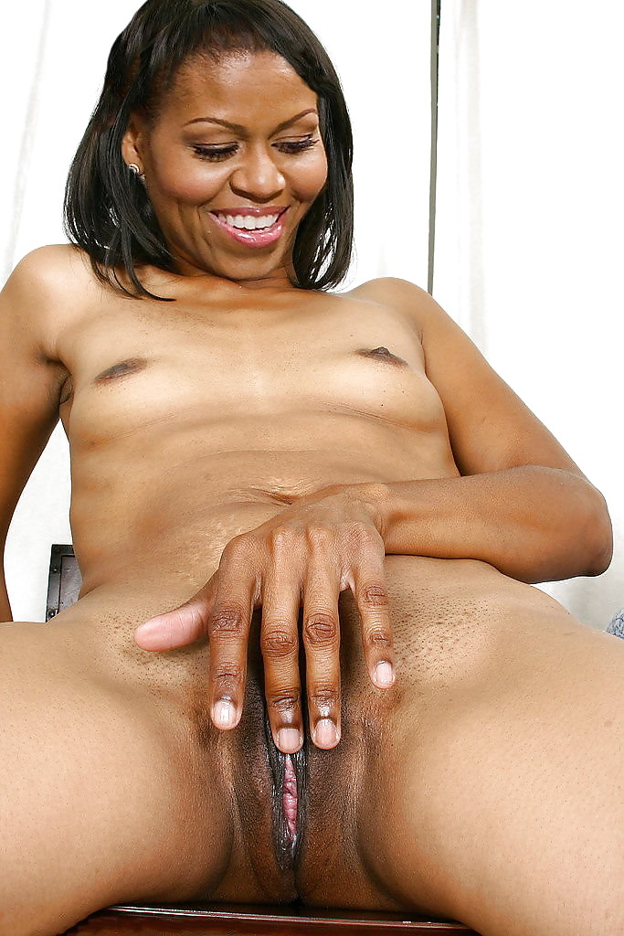 Nude photo of michelle obama ass and throat
