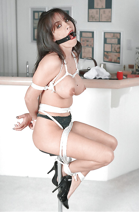 Tattoo squirt dynamo lily lane bound in rope bondage and fuc - 1 part 7