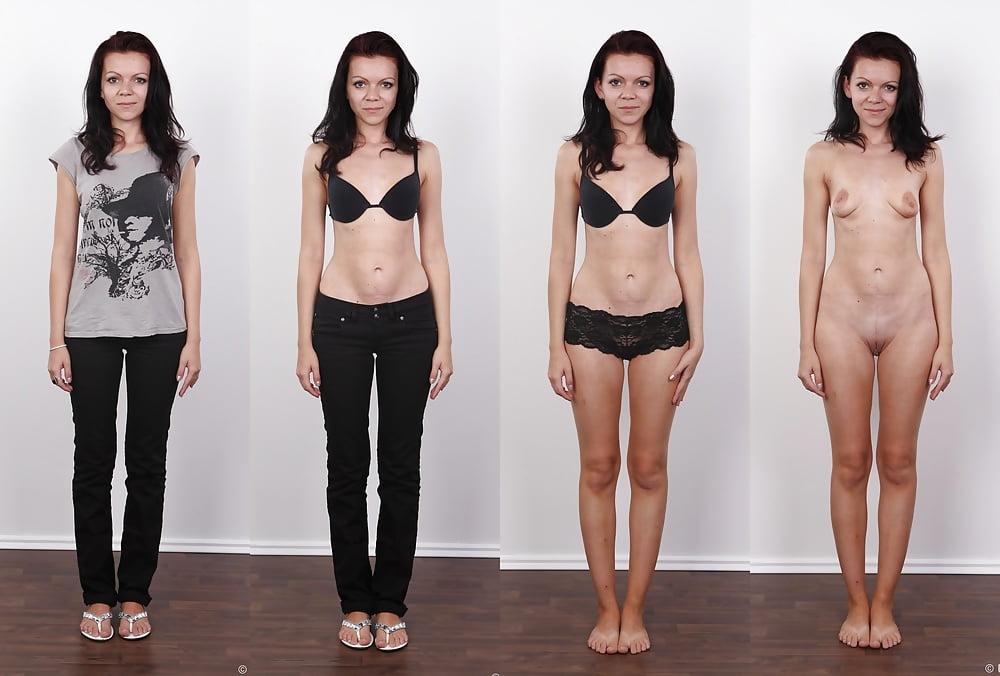 очаровательных моделей, фото женщины в одежде и без нее прям вижу