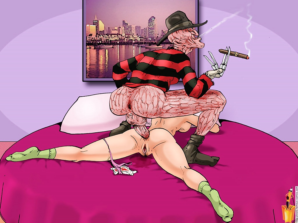Порно с фредди крюгером — photo 6