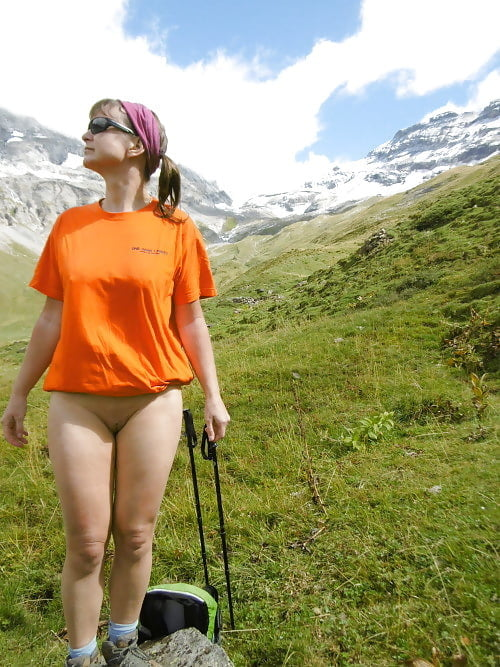 Bodybuilderin Alte Outdoor Fisten