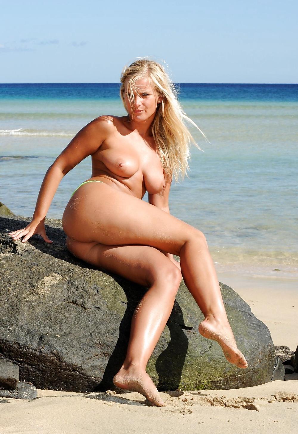 Female skimpy bikini models