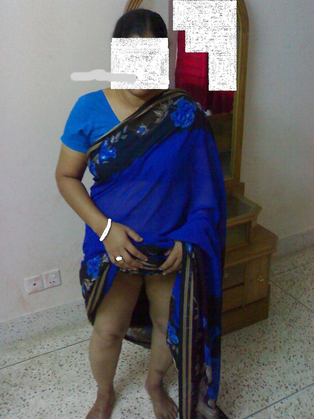 Mature Indian Wife In Saree -Indian Desi Porn Set 186 -9728