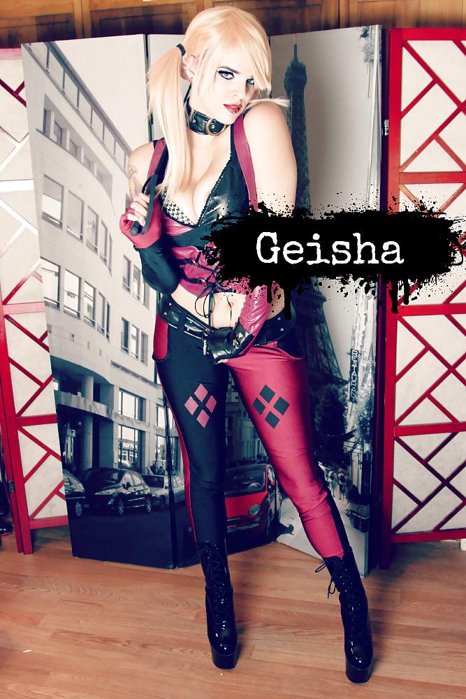 Cum shot geisha bom bon - 2 8
