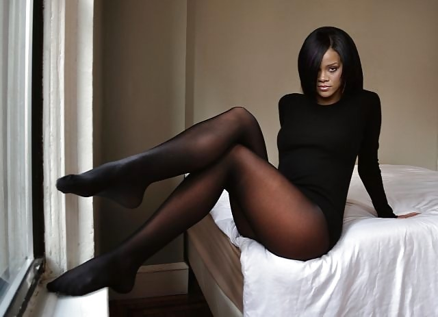 Pantyhose and feet and celebrity