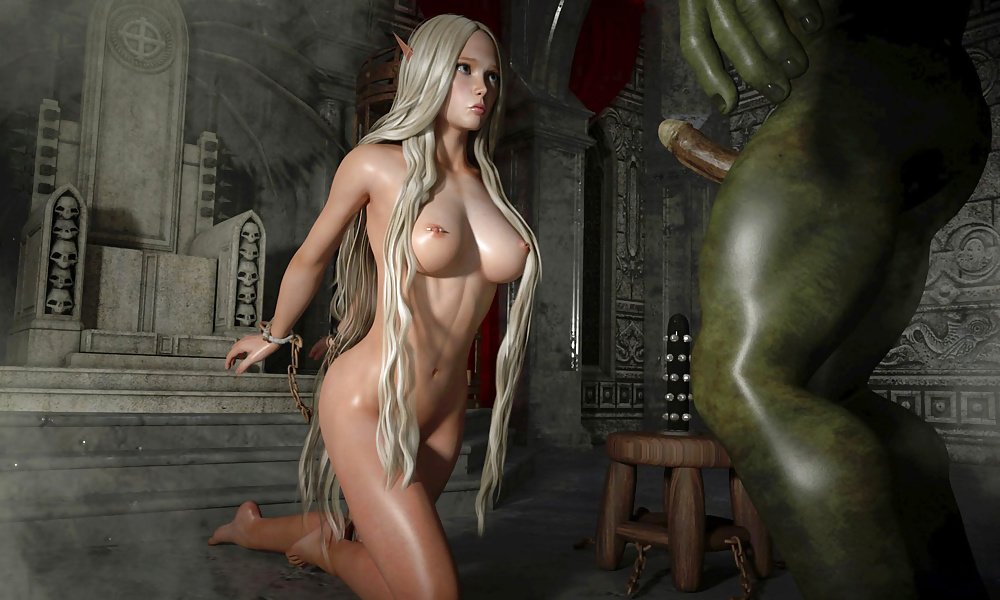 Elf dwarf demon female nude sexy images