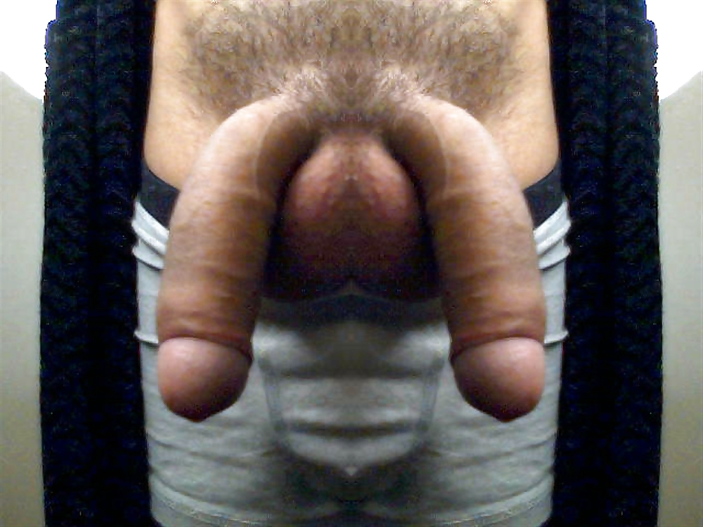 Guy with two dick