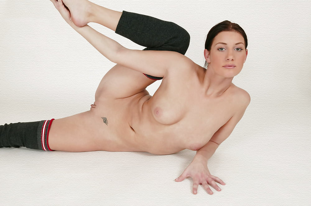 Slim gymnast matilda shows off her amazing naked body in the most passionate way