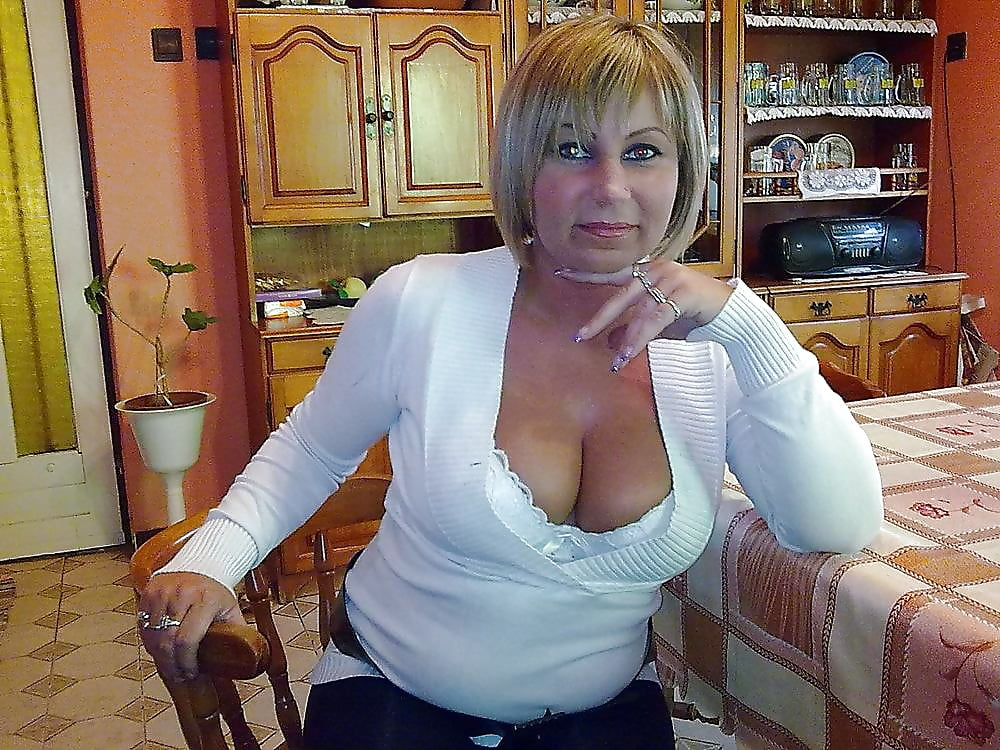Sexy mature big tits