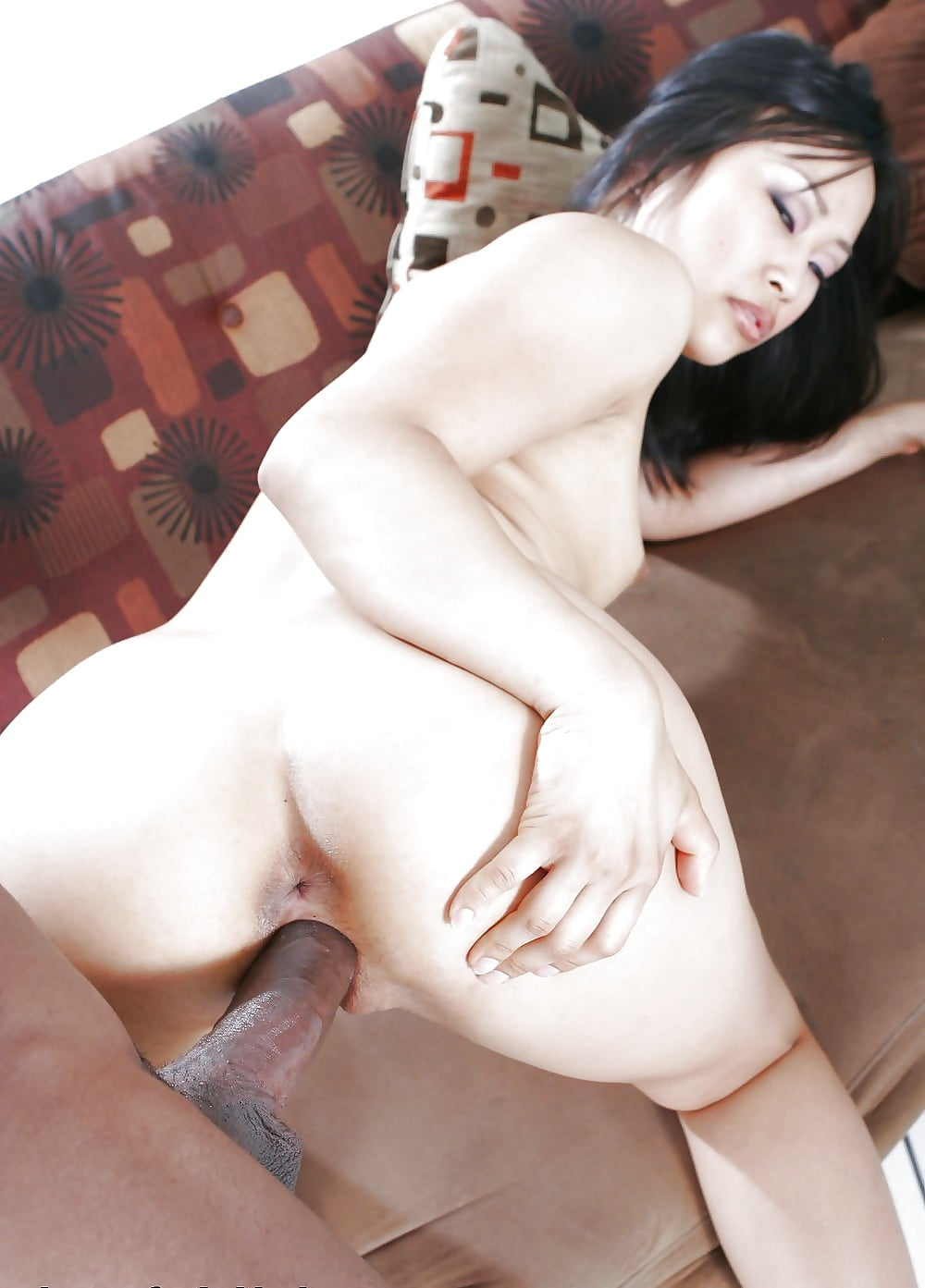 Asian male white female anal tranny