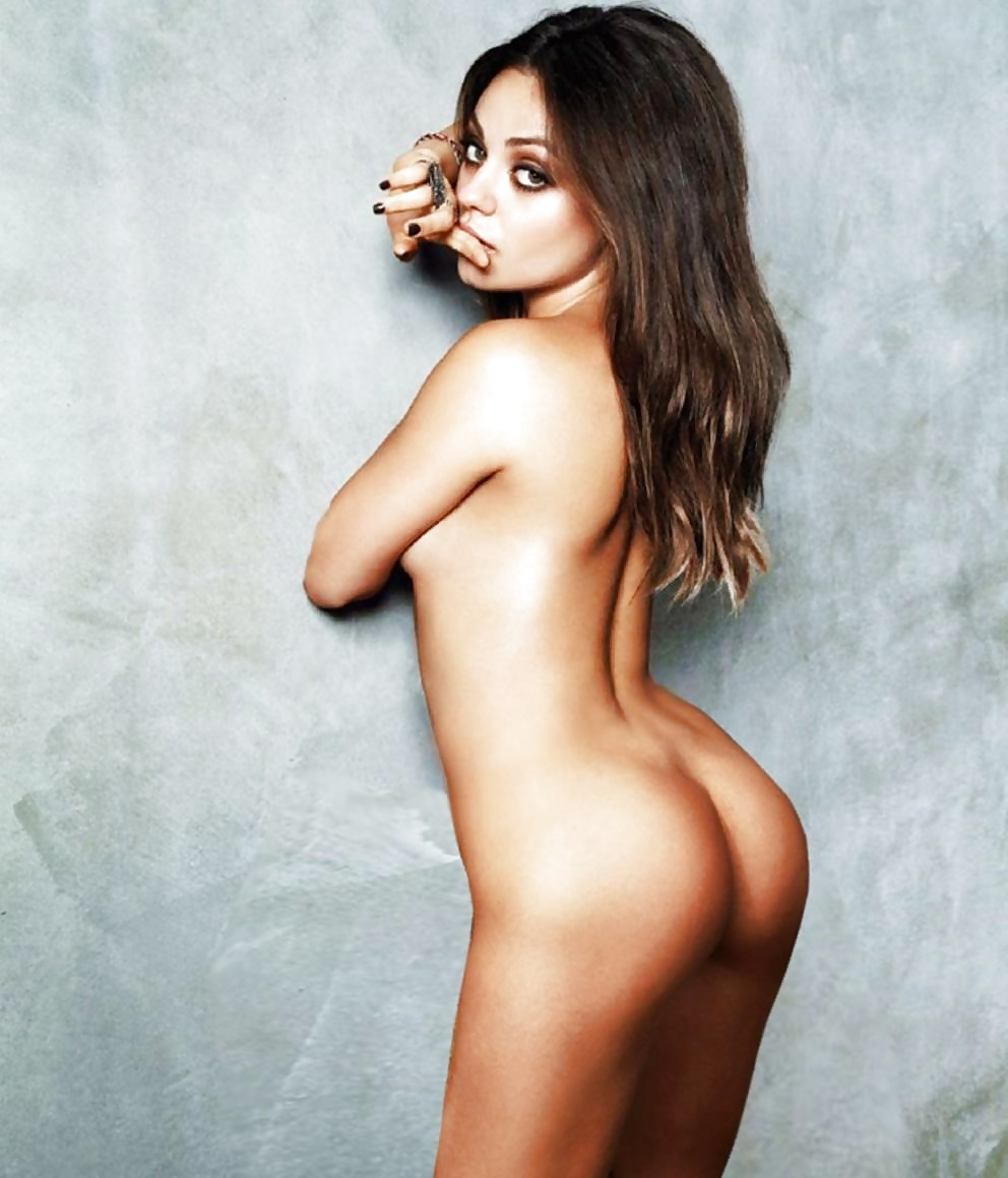 Mila Kunis Nude Upskirt Photo