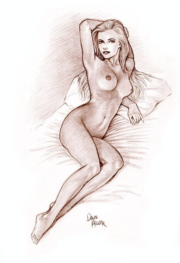 Daily movie naked girl sketch