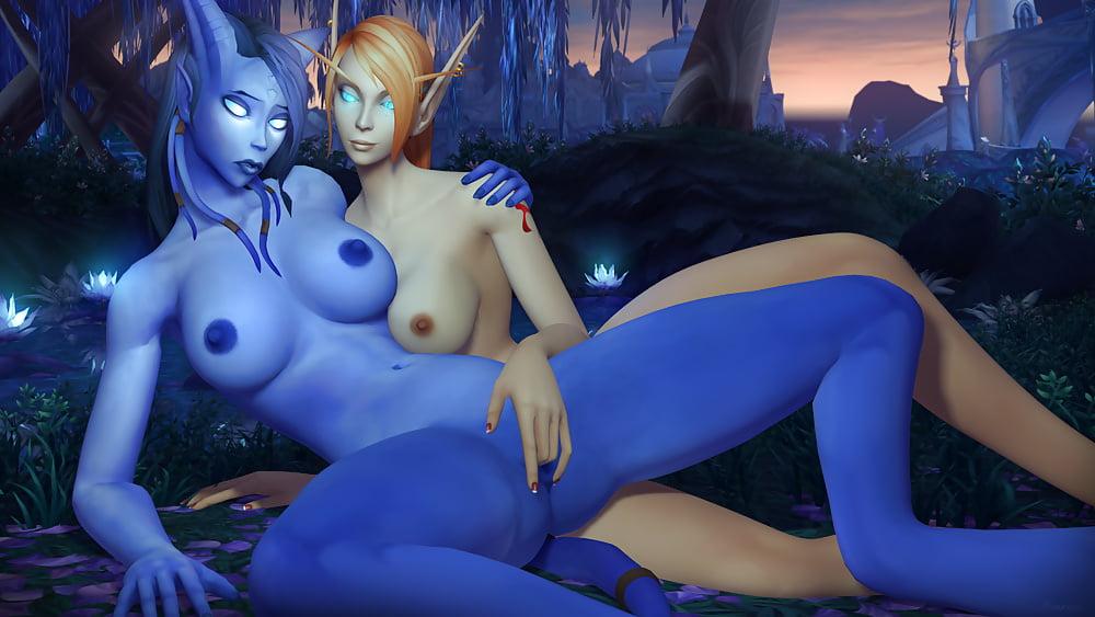 World Of Warcraft Elf Girl