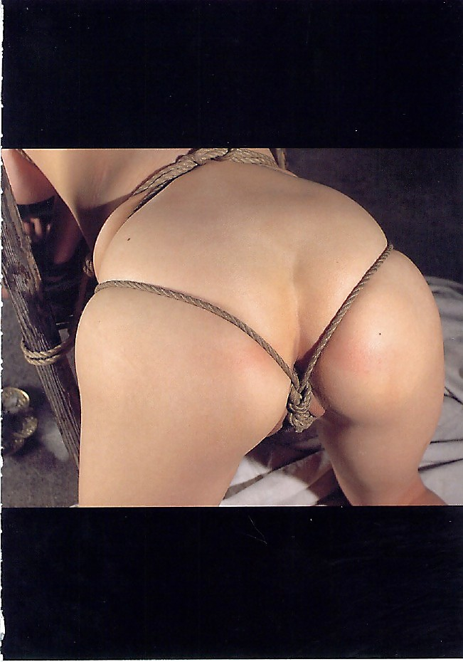 Tattoo squirt dynamo lily lane bound in rope bondage and fuc - 1 part 6