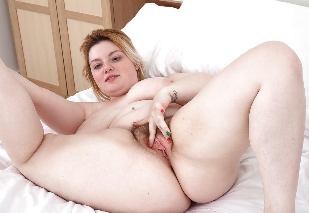 Hairy chubby blonde 15