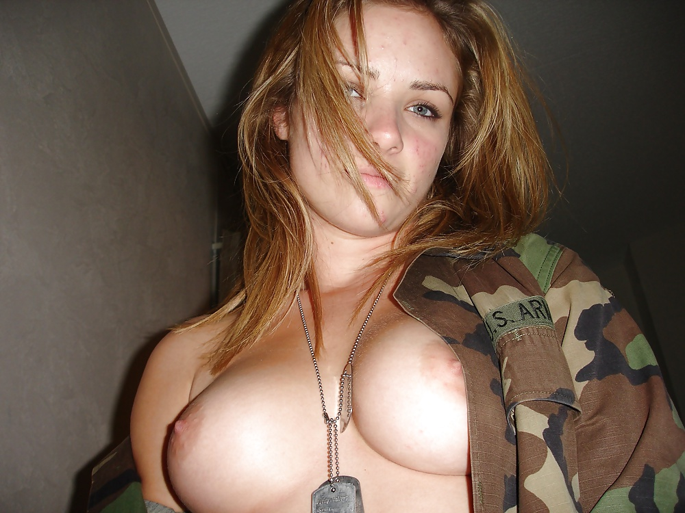 Hot nude military girl — pic 14