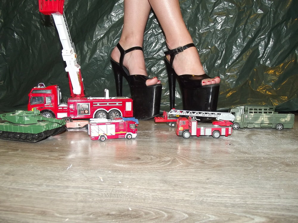 Lady l crush nexus with sexy extreme high heels - 5 2