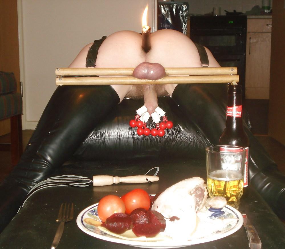 Свечка порно в жопу