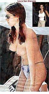 Breast giacomo laura naked san