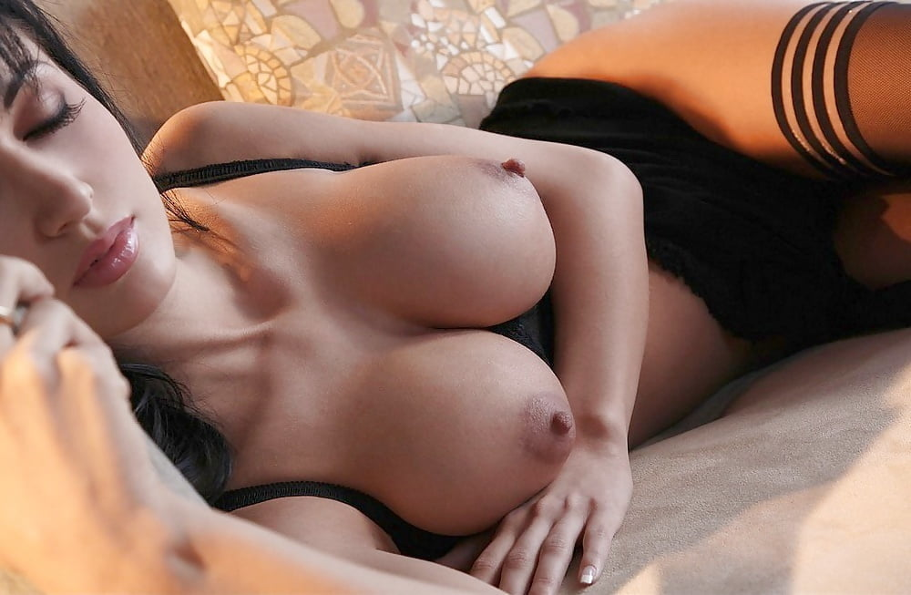Erotic mature breasts