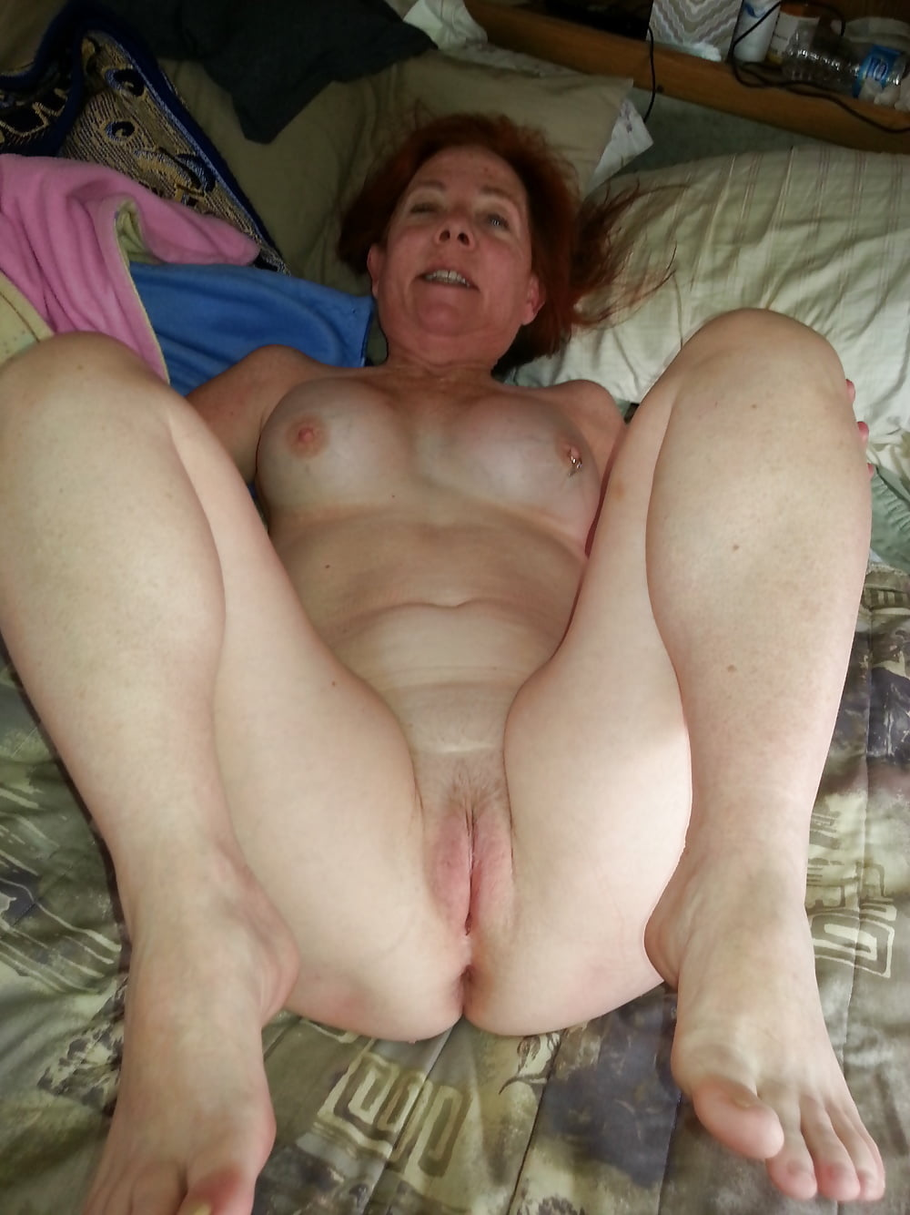 Grannys shaved wet pussy, sexy legs mature woman