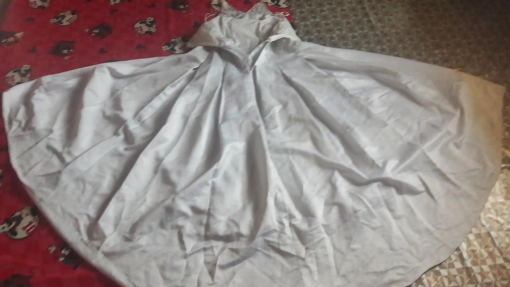 Huge tits wedding dress-2753