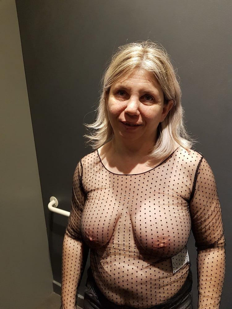 Free photo mature braless, ameture girl hard