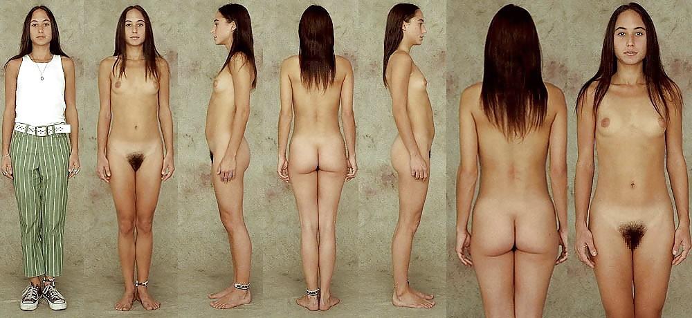 Lorelei origianal nude female figure charcoal drawing study