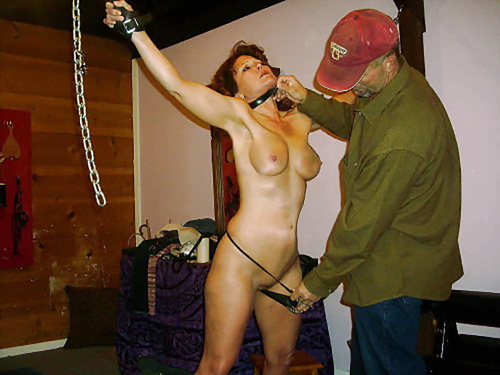 Submissive amateur asian slave