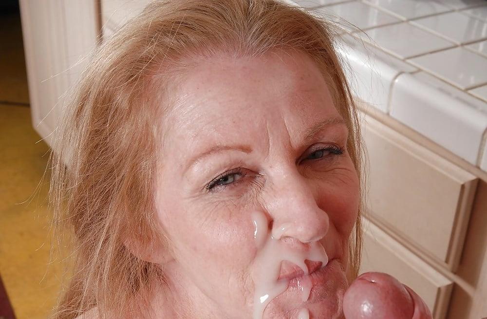 Grandmother cum facial