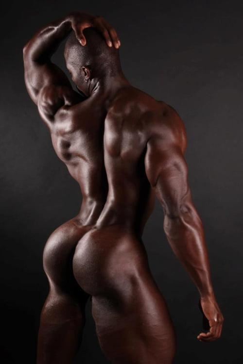 Black bodybuilders photos, royalty