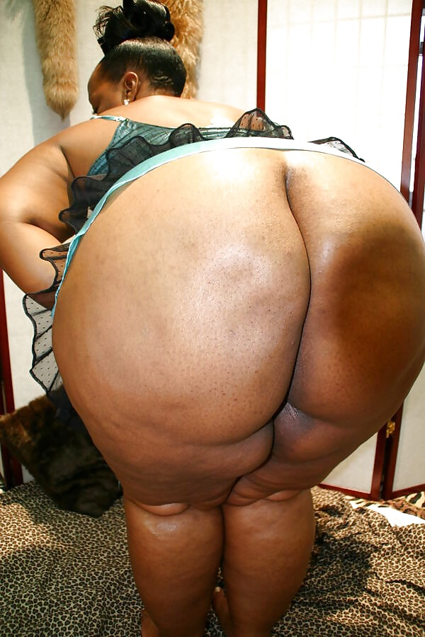 Fat black ebony fat ass #4