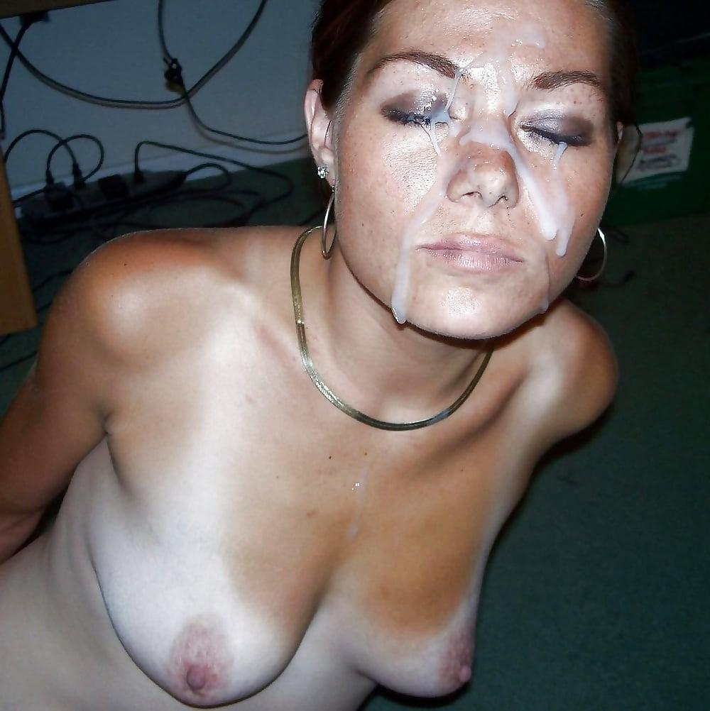 зрелая порно сперма на лице