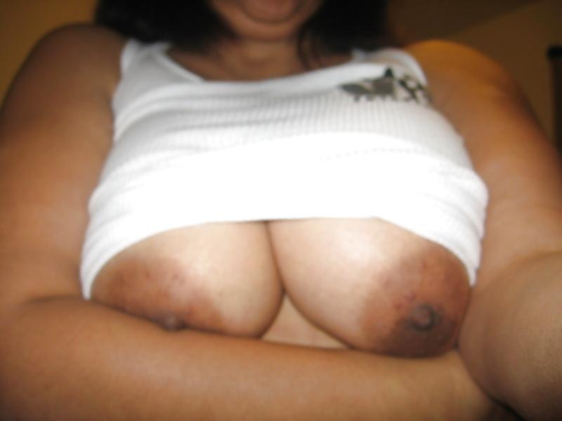 My moms massive tits