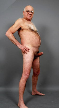 Mature male naked