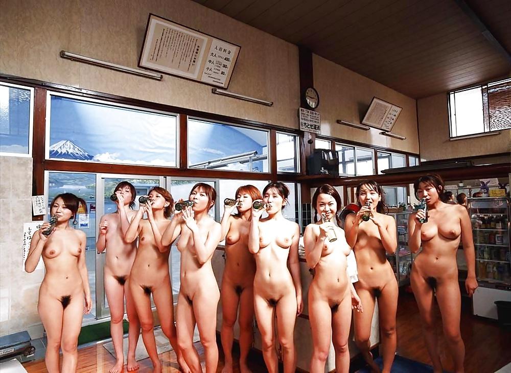 Japanese nude group girls naked