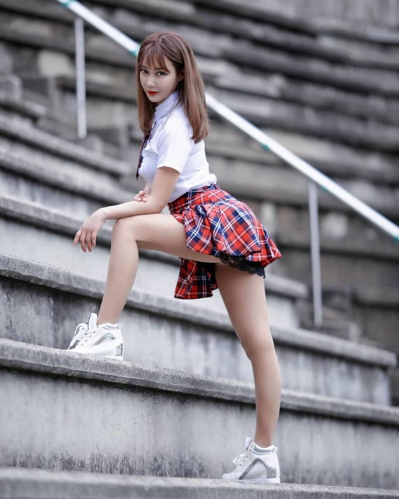 Upskirt Korean