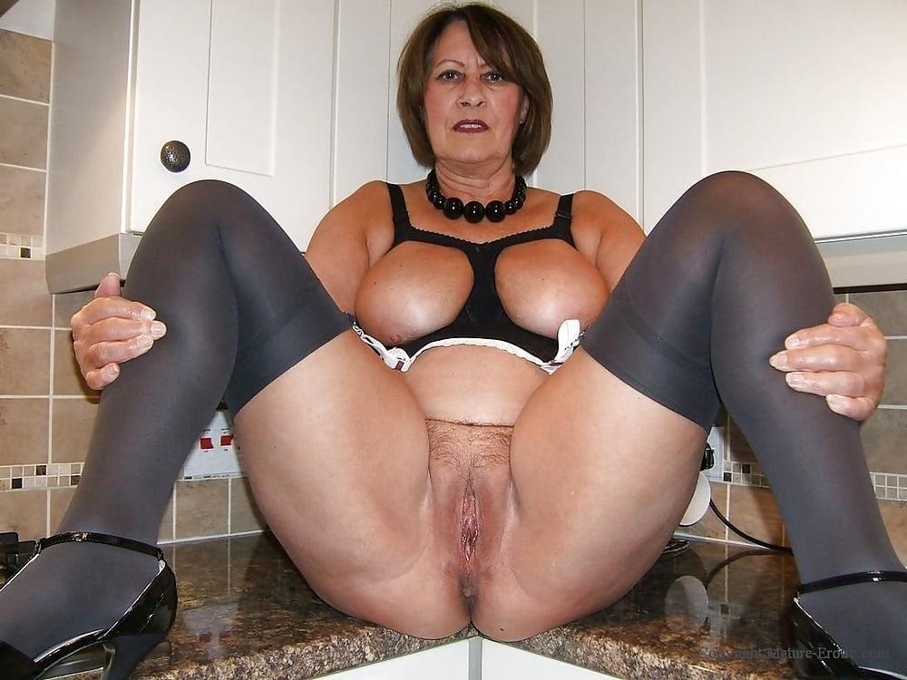 Stocking Mature Erotic Christine