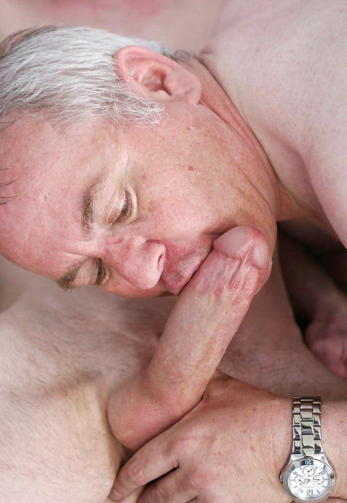Free older man gay oral sex