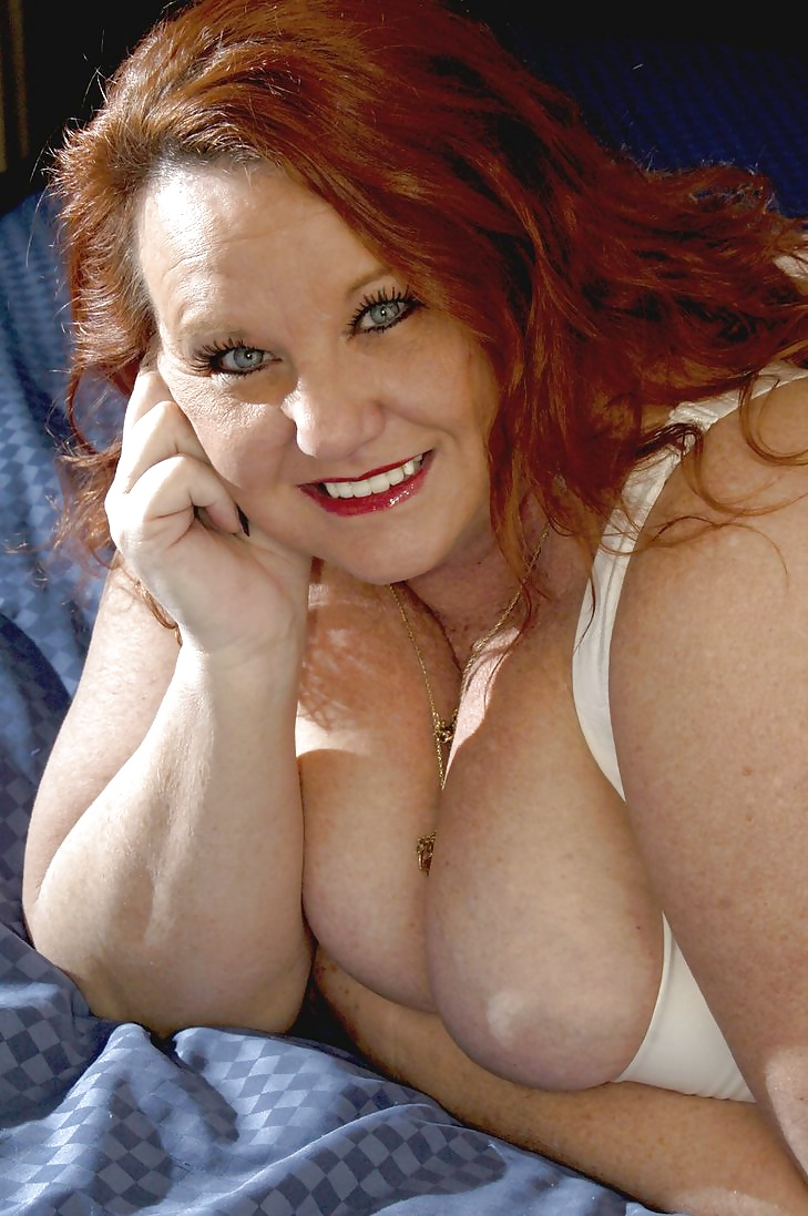 Mature redhead freeones, cock and feet