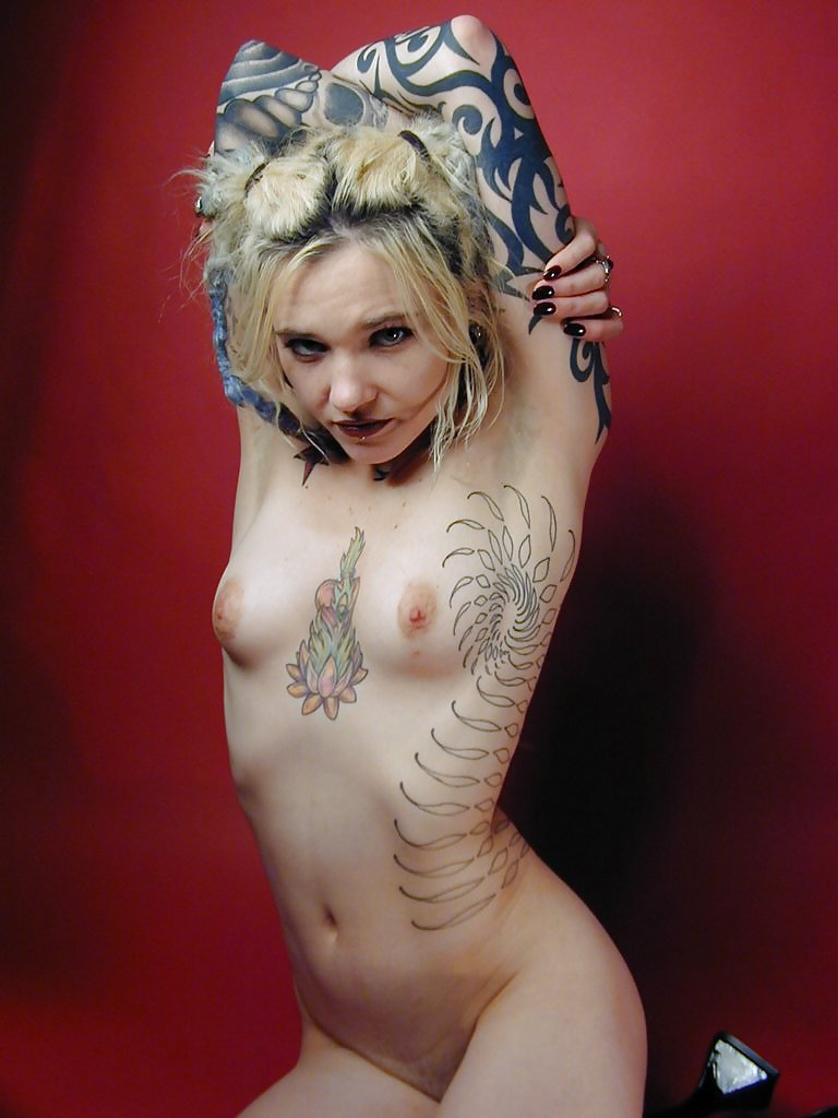 Punk rock girl nude