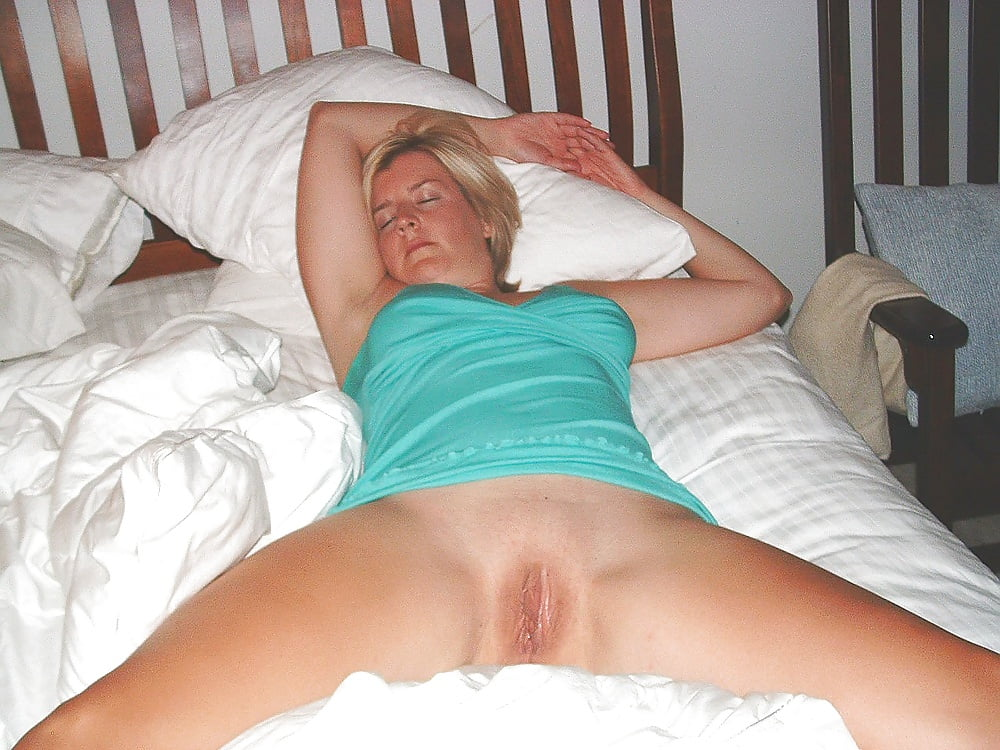 My wife sleeping naked photos