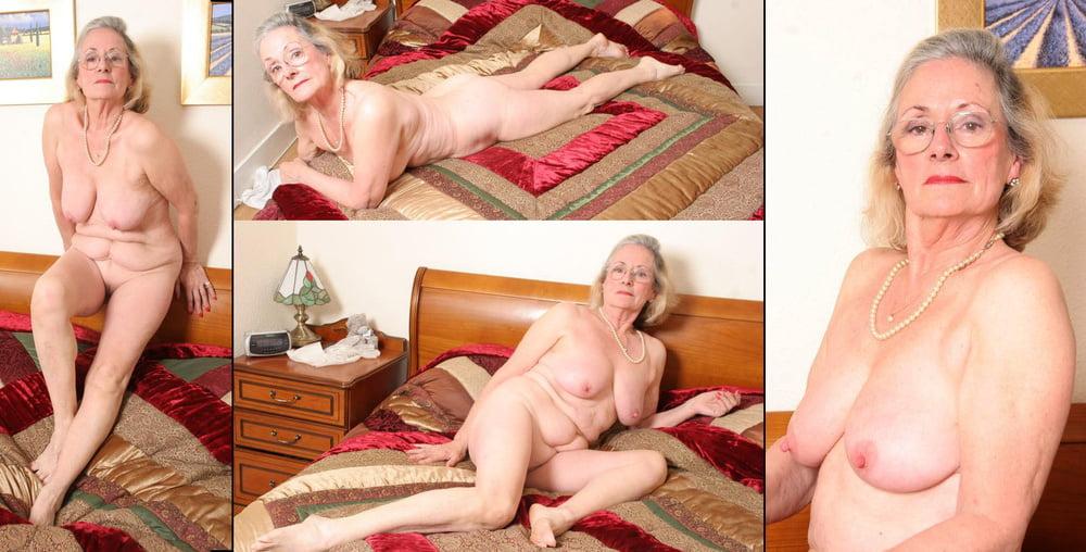 Photo of naked older lady