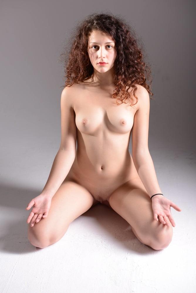 Beautiful Eastern Nude On Her Knees