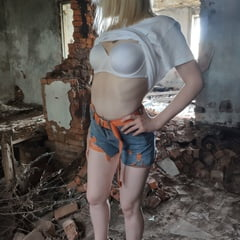 Chernobil. Extreme Sex In Old Abandoned Bilding.