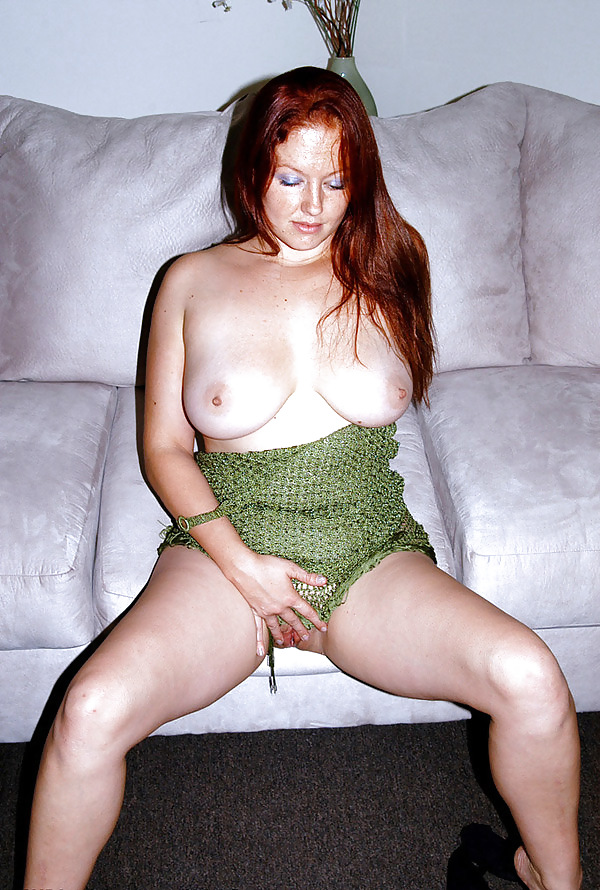 Athletic nude irish redhead freckles