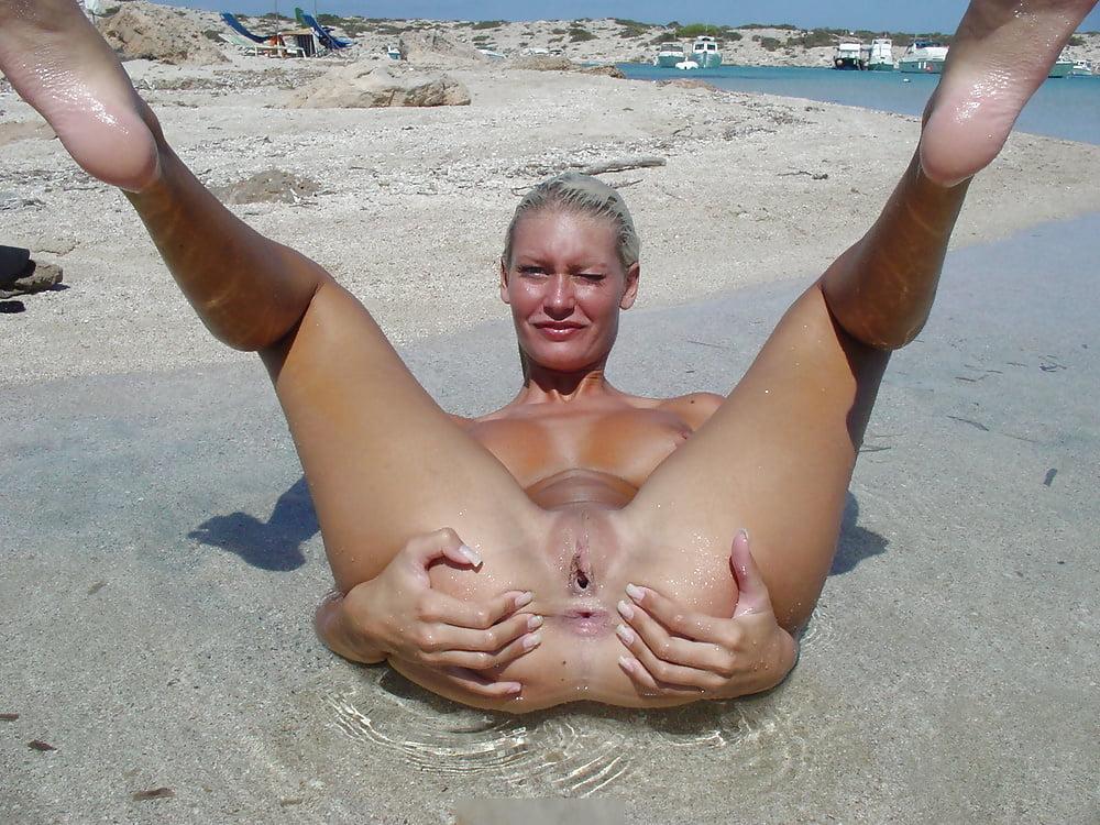 Valentina Nappi Public Beach
