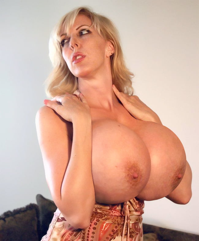 Blonde mil giant tits
