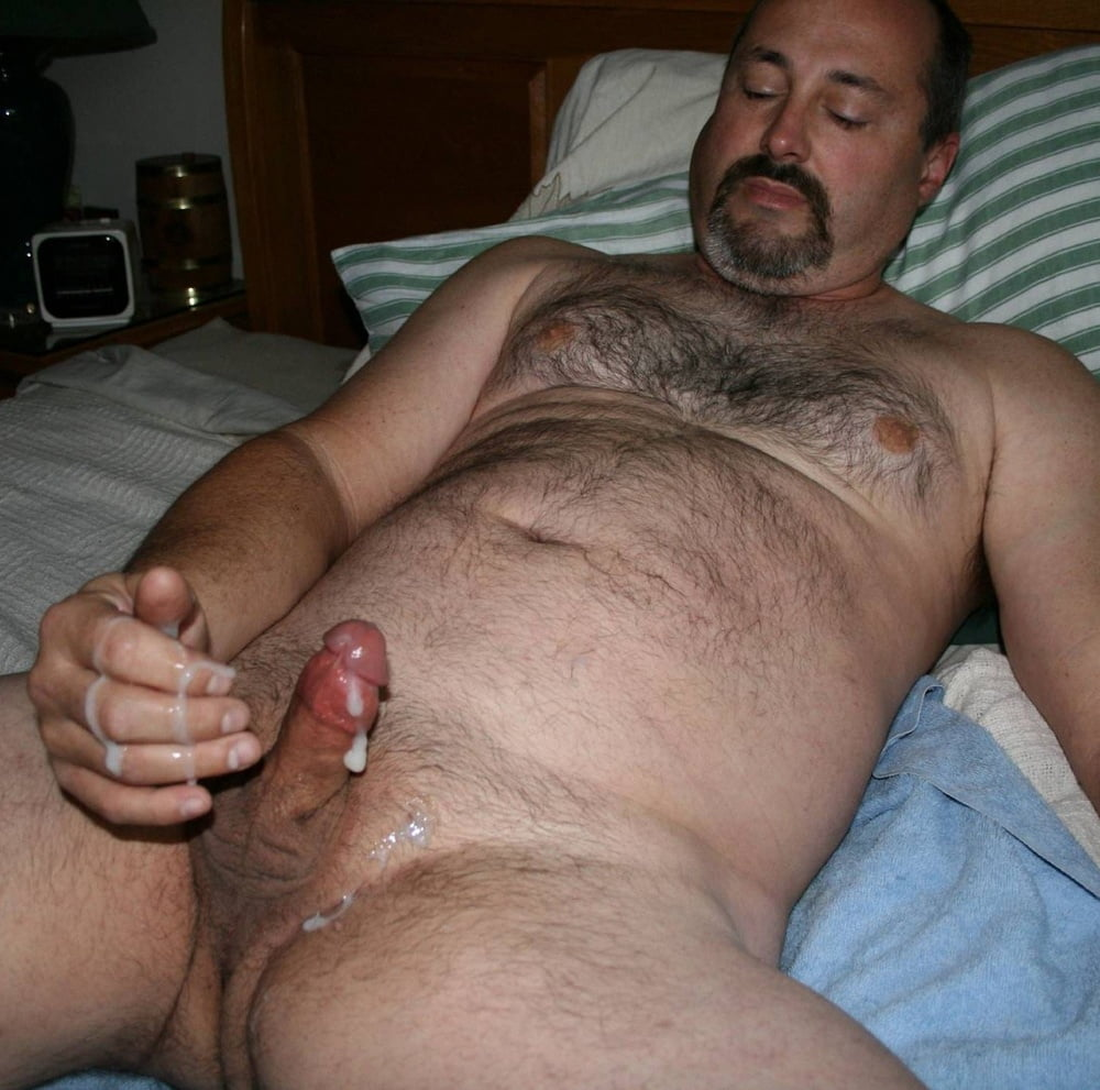 Sexy hairy fat men nude 10